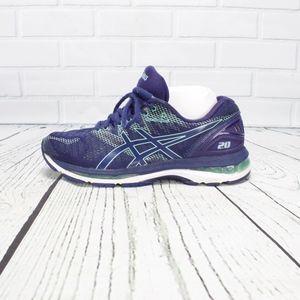 Asics Gel Nimbus 20 blue Sneakers Size 9